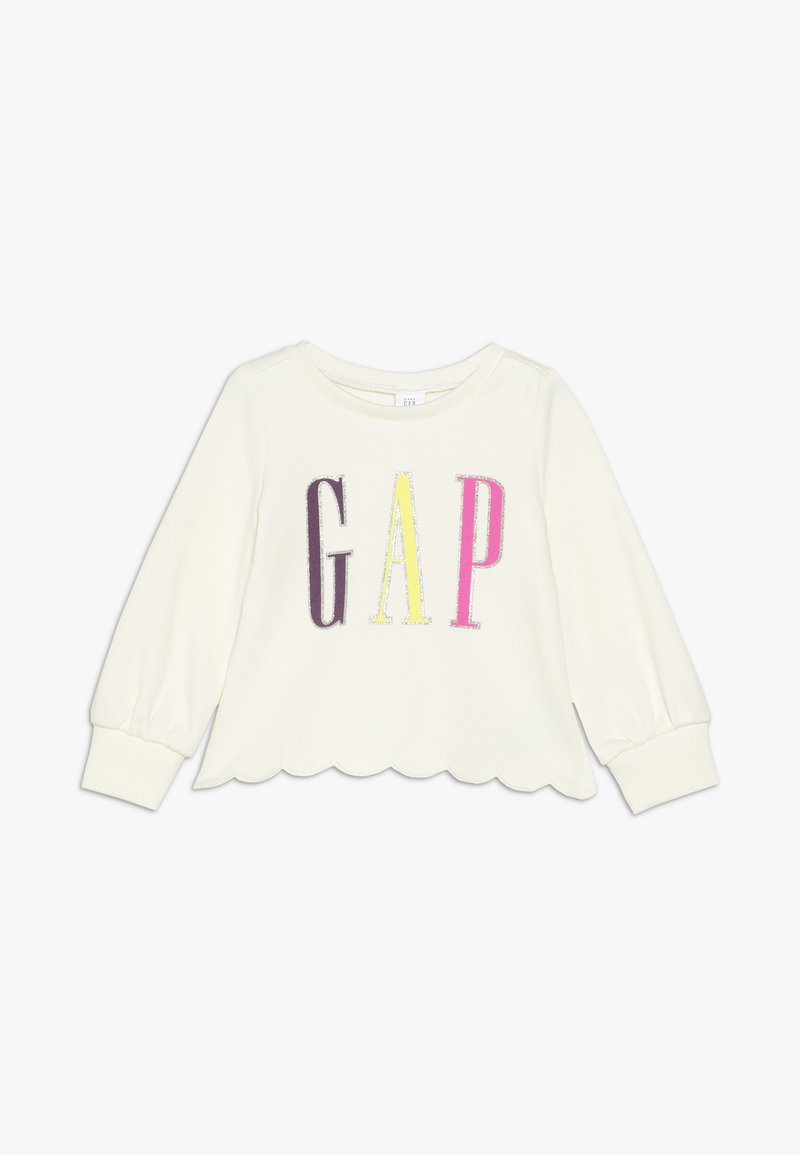 GAP - TODDLER GIRL SCALLOP - Mikina - ivory frost
