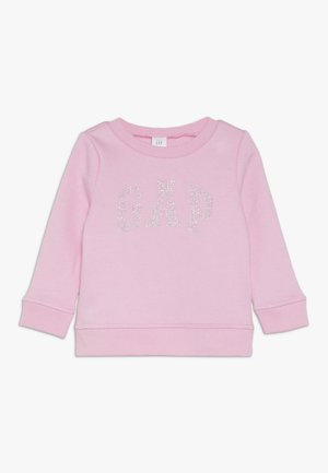 TODDLER GIRL LOGO CREW - Sweater - parisian pink