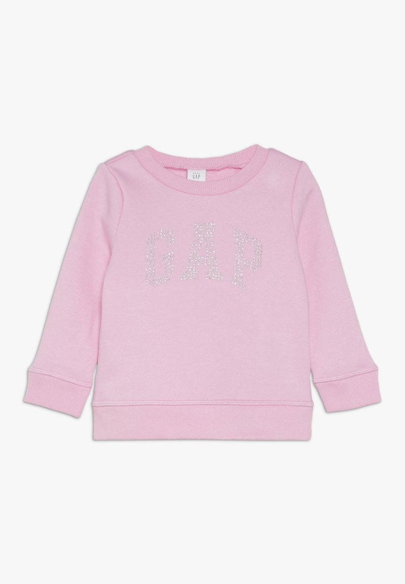 GAP - TODDLER GIRL LOGO CREW - Sweater - parisian pink