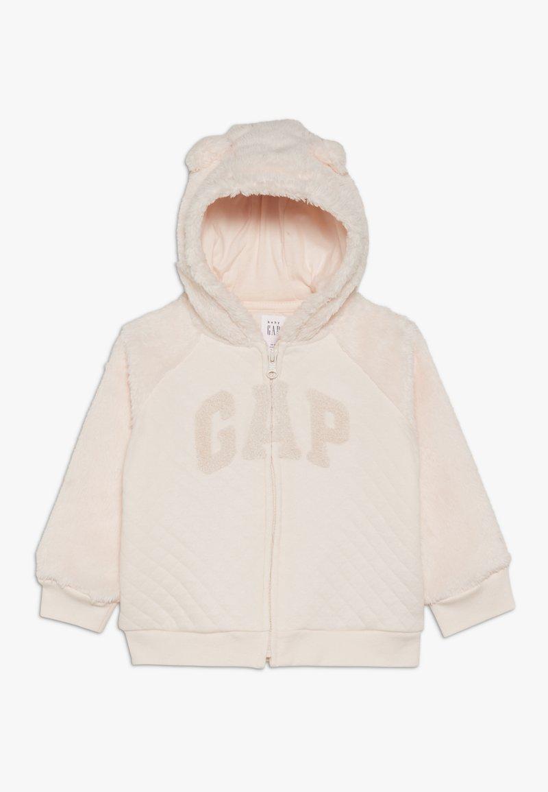 GAP - ARCH HOOD BABY - Hoodie met rits - pink blush