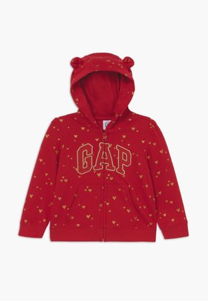 ARCH HOODY BABY - Mikina na zip - modern red