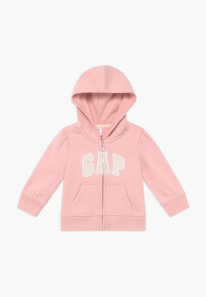 TODDLER GIRL BASIC FULL ZIP - Sudadera con cremallera - icy pink