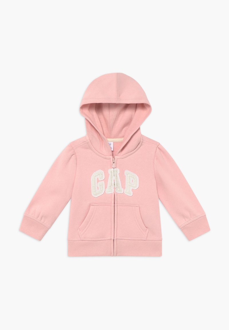 GAP - TODDLER GIRL BASIC FULL ZIP - veste en sweat zippée - icy pink