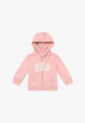 TODDLER GIRL BASIC FULL ZIP - Bluza rozpinana - icy pink