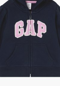 GAP - TODDLER GIRL BASIC FULL ZIP - Hoodie met rits - blue galaxy - 3
