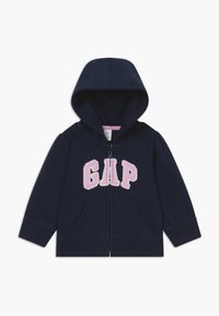 GAP - TODDLER GIRL BASIC FULL ZIP - Hoodie met rits - blue galaxy - 0