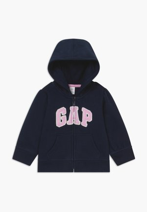 TODDLER GIRL BASIC FULL ZIP - veste en sweat zippée - blue galaxy