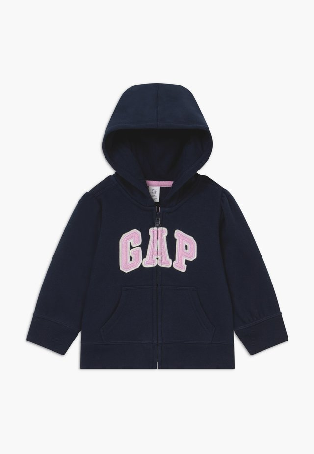 TODDLER GIRL BASIC FULL ZIP - Huvtröja med dragkedja - blue galaxy