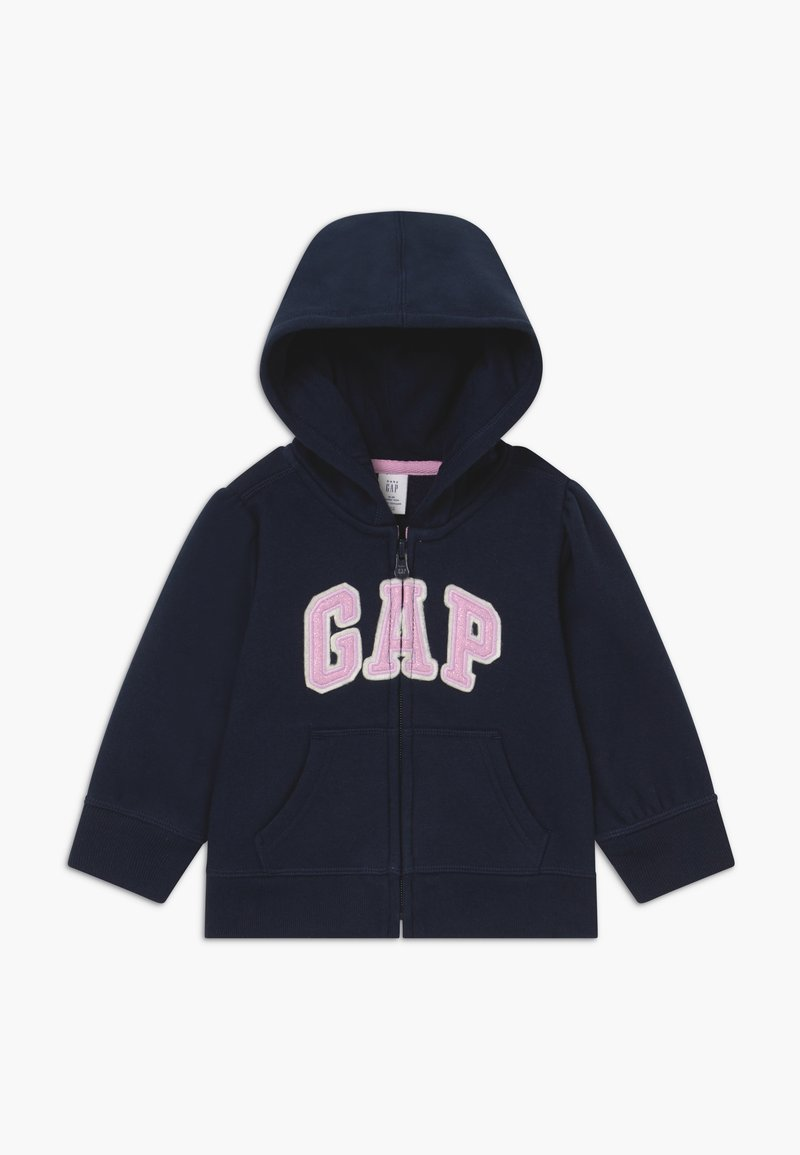 GAP - TODDLER GIRL BASIC FULL ZIP - Hoodie met rits - blue galaxy