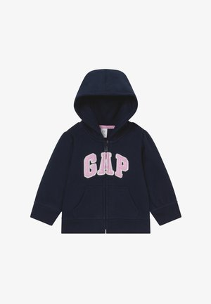 TODDLER GIRL BASIC FULL ZIP - Hoodie met rits - blue galaxy