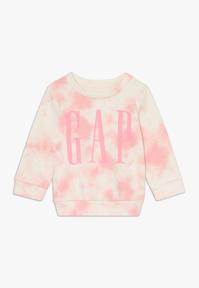ARCH CREW - Sweatshirt - belle pink