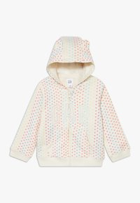 GAP - ARCH  - Zip-up hoodie - ivory frost - 0