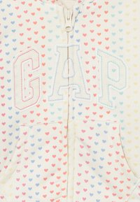 GAP - ARCH  - Zip-up hoodie - ivory frost - 2