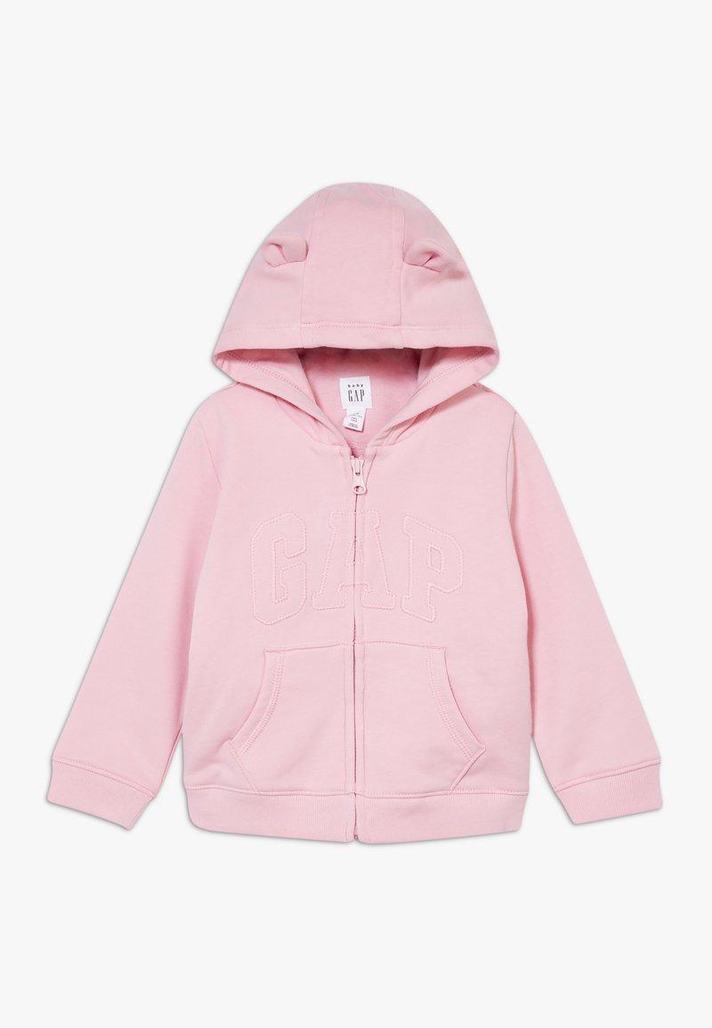 GAP - ARCH  - Hoodie met rits - classic pink