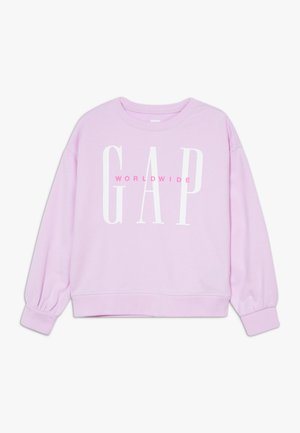 GIRL LOGO DOLMAN CREW - Sweatshirt - lavender pink