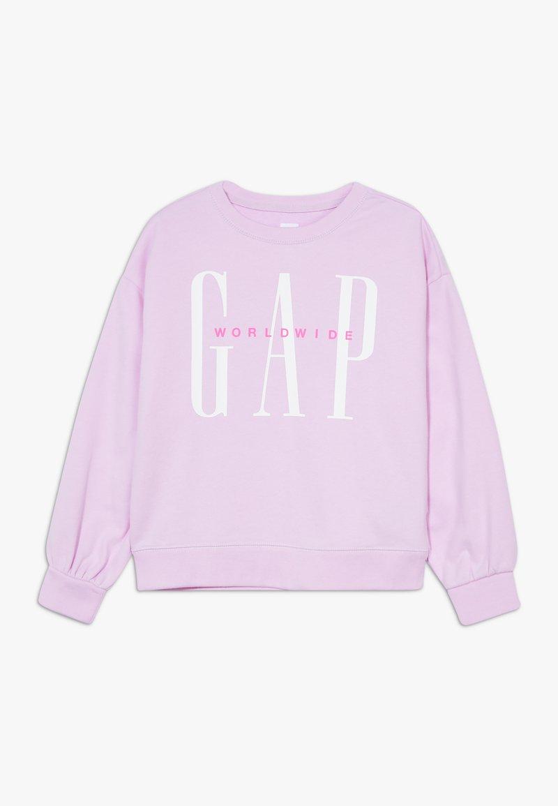 GAP - GIRL LOGO DOLMAN CREW - Sudadera - lavender pink