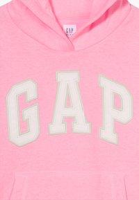 GAP - GIRL LOGO HOOD - Mikina - neon impulsive pink - 3