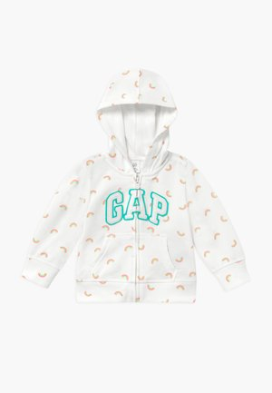 TODDLER GIRL NOVELTY - Mikina na zip - off-white