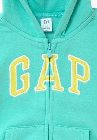 GAP - TODDLER GIRL - Zip-up hoodie - aqua tide - 3