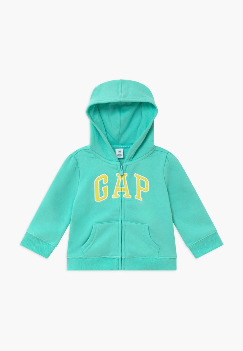 GAP - TODDLER GIRL - Zip-up hoodie - aqua tide