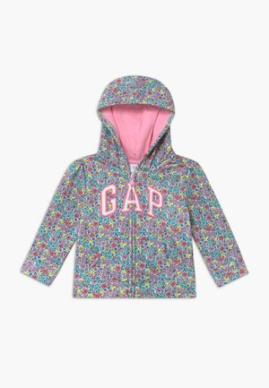TODDLER GIRL LOGO - Sudadera con cremallera - multicolor
