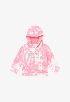 TODDLER GIRL LOGO - Hoodie met rits - pink