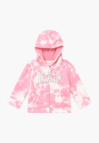GAP - TODDLER GIRL LOGO - Zip-up hoodie - pink - 0