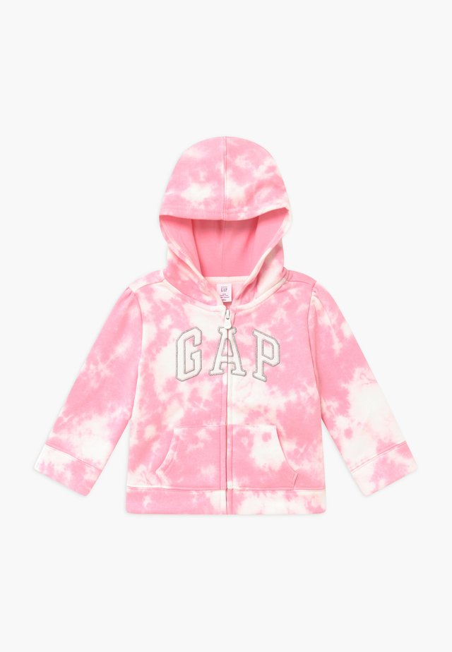 TODDLER GIRL LOGO - Zip-up hoodie - pink