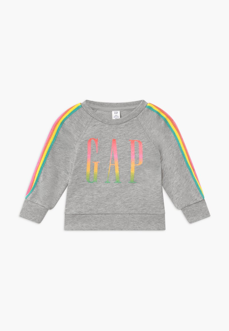 GAP - TODDLER GIRL LOGO - Sweater - light heather grey