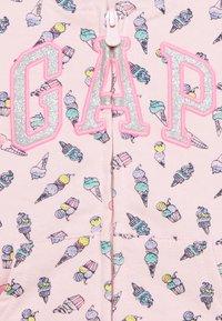 GAP - TODDLER GIRL LOGO - Hoodie met rits - pink - 2