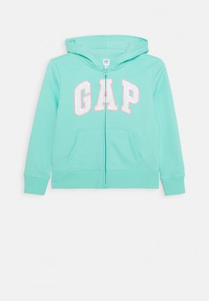 GIRL LOGO  - Zip-up hoodie - aqua tide
