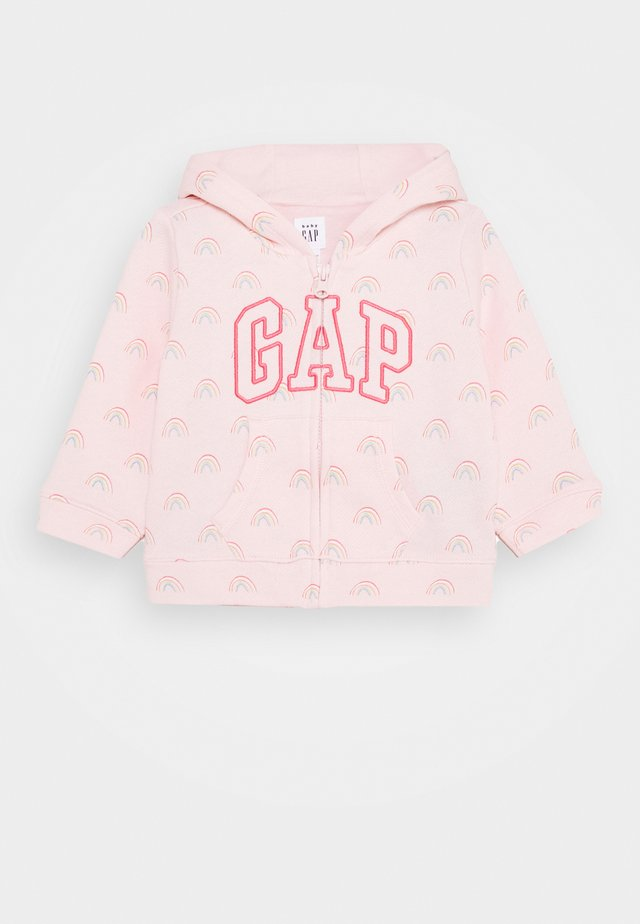 ARCH HOOD - Hoodie - pink cameo