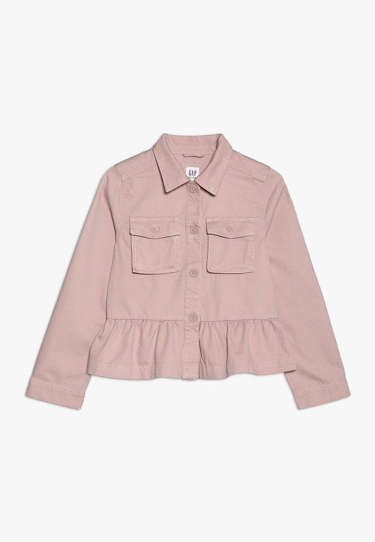 GAP - GIRLS ITEMS PEPLUM JACKET - Lehká bunda - willow pink