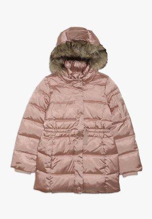 GIRL LONG WARMEST - Płaszcz puchowy - pink champagne