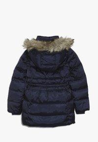 GAP - GIRL LONG WARMEST - Down coat - navy uniform - 1