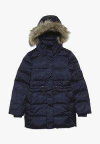 GAP - GIRL LONG WARMEST - Down coat - navy uniform - 0