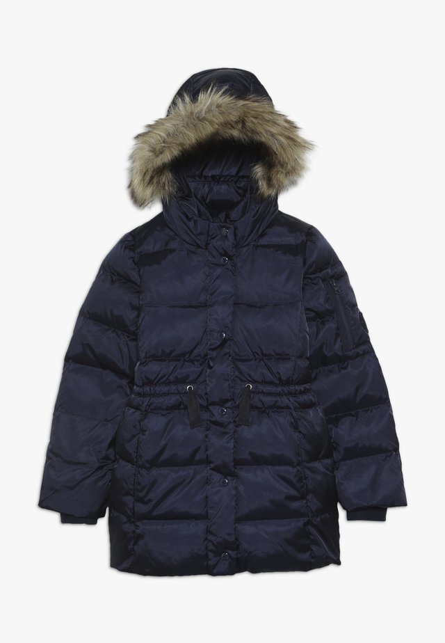 GIRL LONG WARMEST - Down coat - navy uniform