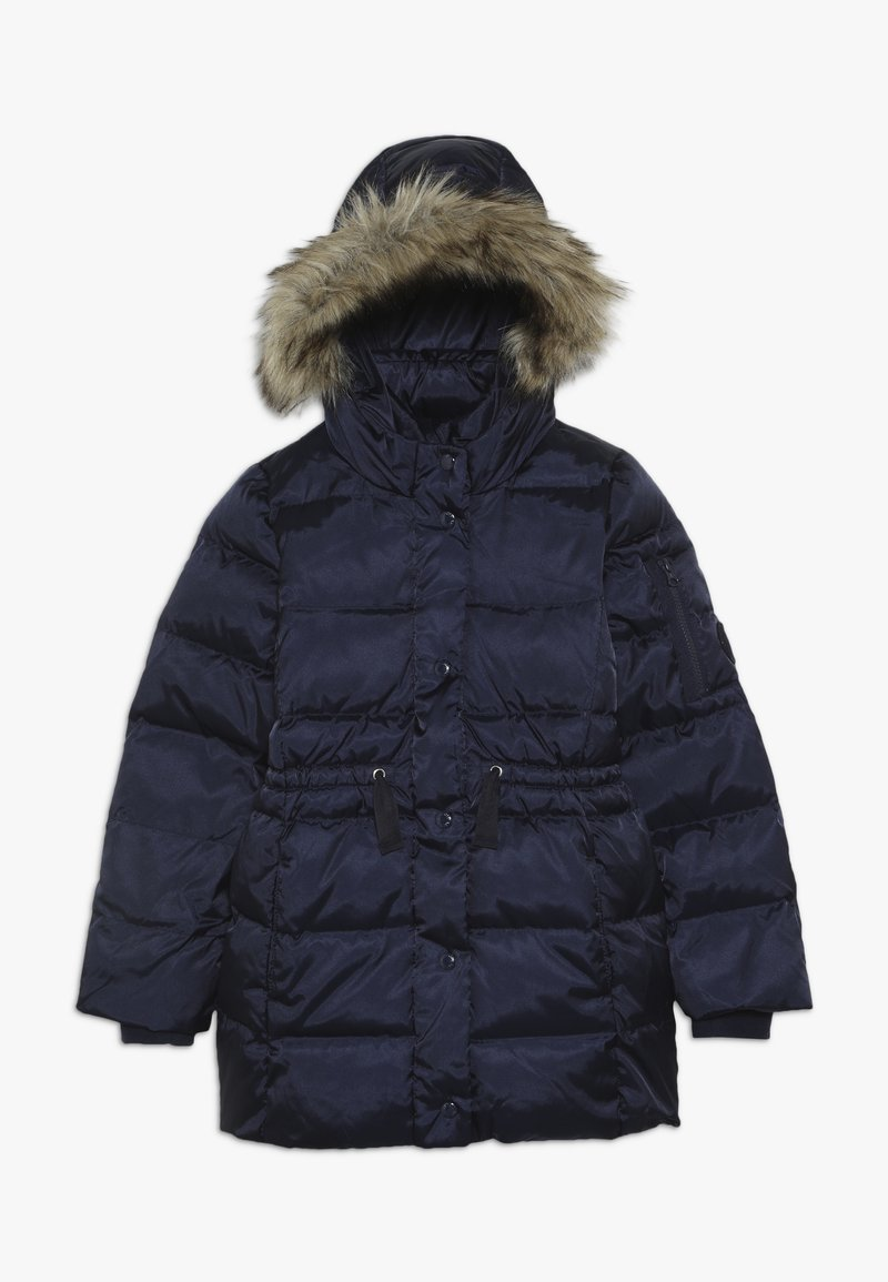 GAP - GIRL LONG WARMEST - Down coat - navy uniform
