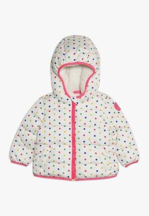 TODDLER GIRL COZY PUFFER - Winter jacket - milk/multi