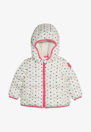 TODDLER GIRL COZY PUFFER - Winter jacket - milk/multi