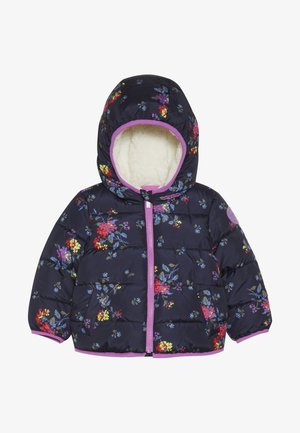 TODDLER GIRL COZY PUFFER - Winter jacket - navy