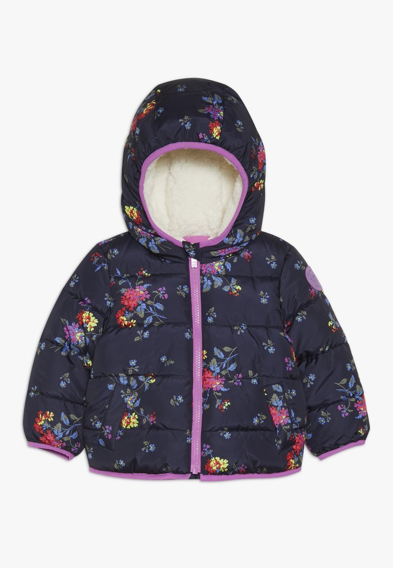 GAP - TODDLER GIRL COZY PUFFER - Zimní bunda - navy