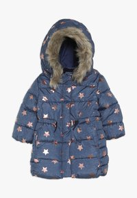 GAP - TODDLER GIRL LONG - Winter coat - blue heather - 0
