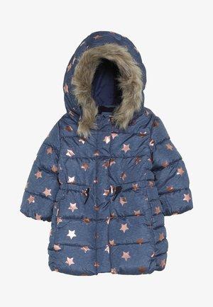 TODDLER GIRL LONG - Zimní kabát - blue heather