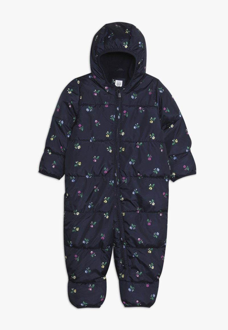 GAP - SNOWSUIT BABY - Mono para la nieve - navy uniform