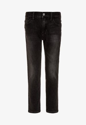 BOYS BOTTOMS - Slim fit jeans - black wash