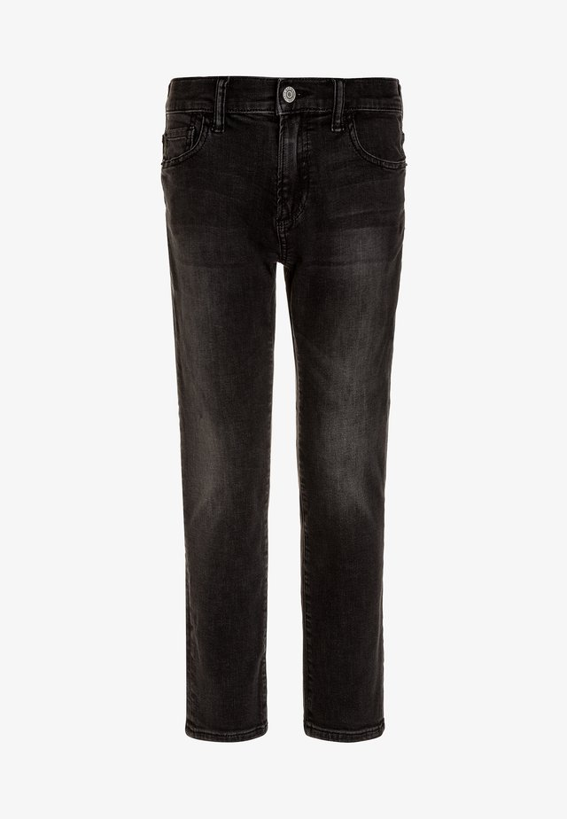 BOYS BOTTOMS - Slim fit jeans - black wash