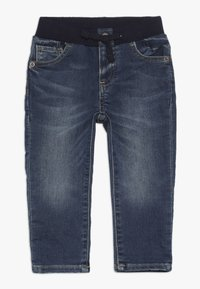 GAP - BABY - Džíny Slim Fit - dark wash - 0