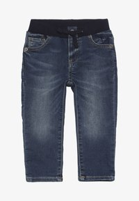 GAP - BABY - Džíny Slim Fit - dark wash - 3