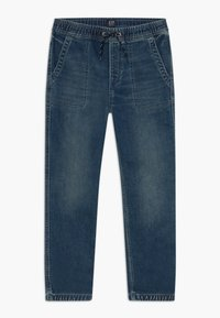 GAP - BOY  - Relaxed fit jeans - blue denim - 0